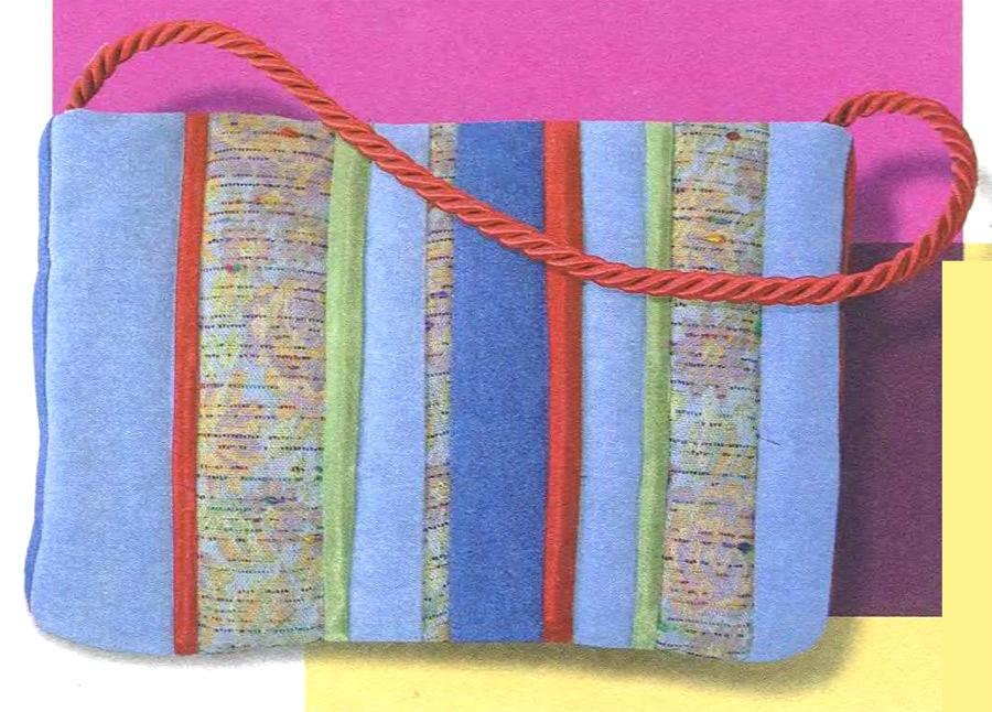 "Простая сумка - «пэчворк». Simple Bag ""patchwork"""