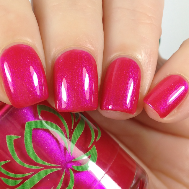 Soothing Soul Nail Lacquer-Hop Pink