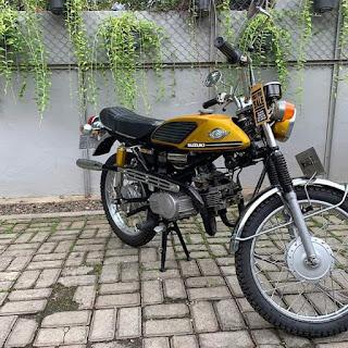 Jual Motor Klasik Jadul Suzuki Stinger T125