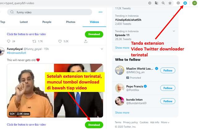 cara download video di twitter pakai aplikasi