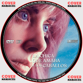 LA CHICA QUE AMABA A LOS CABALLOS - HORSE GIRL 2020 [COVER - DVD]