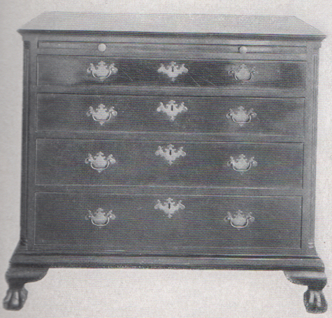antique chippendale style dresser