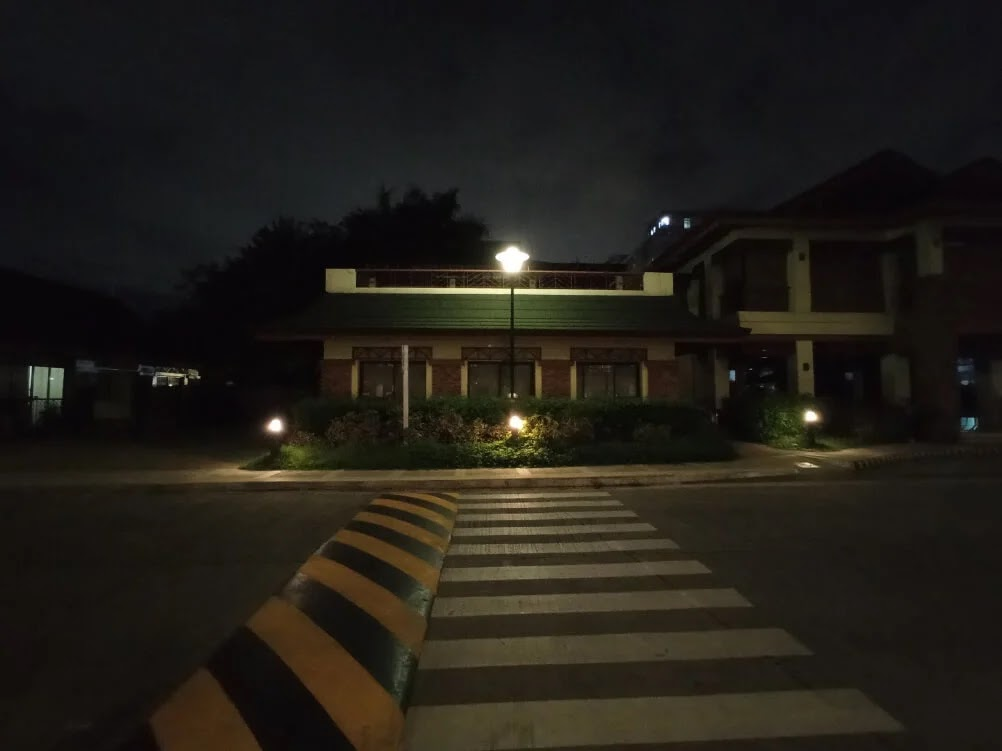 Xiaomi Redmi 9 Camera Sample - Night, PedXing, Ultrawide