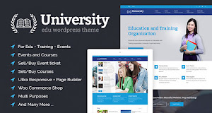 University is a feature-rich WordPress theme and it's very easy to use