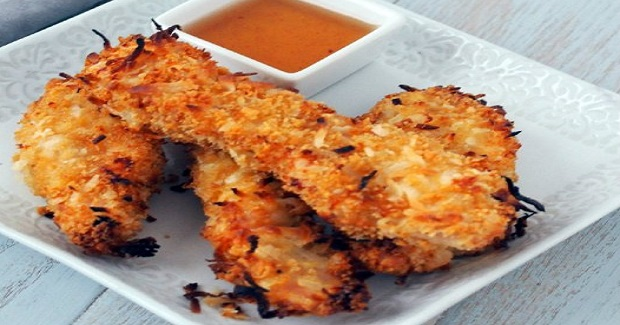 Coconut Chicken Tenders Recipe - Gutom Na!