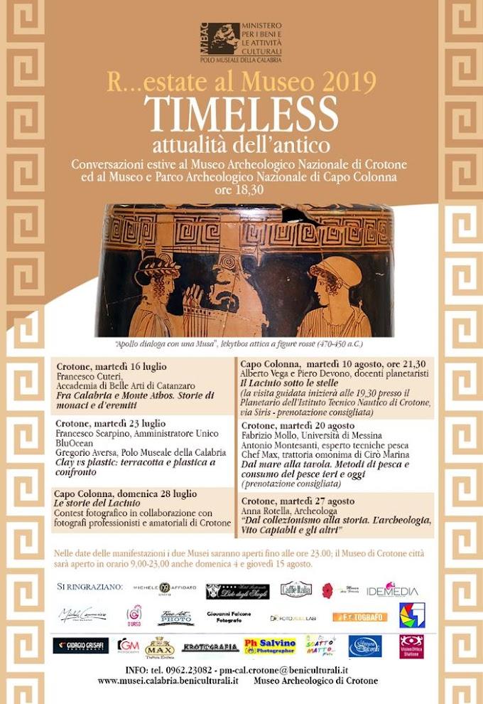 A Crotone 'Timeless – Attualità dell'antico Clay vs Plastic'