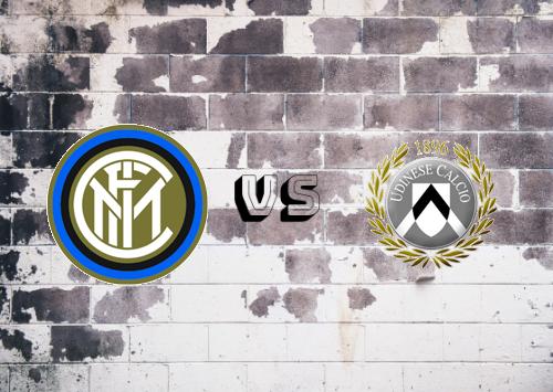 Internazionale vs Udinese  Resumen y Partido Completo