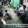 Bhabinkamtibmas Desa Galesong Baru Melayat Kerumah Duka Menyampaikan Ucapkan Belasungkawa