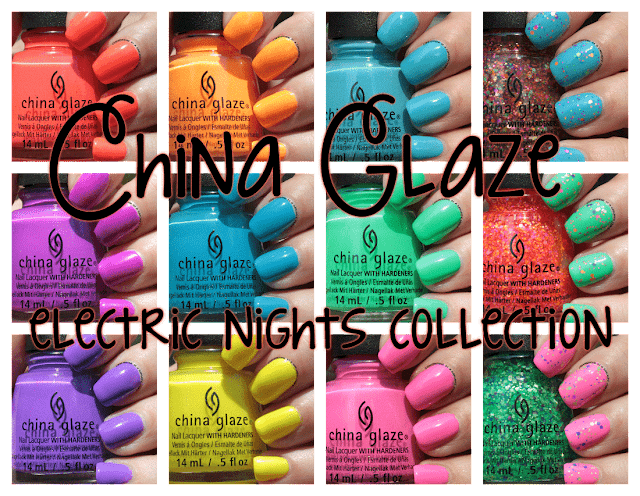 China Glaze Electric Nights Swatches and Review