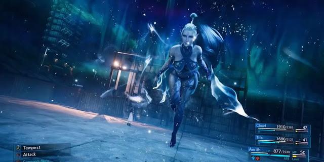 Shiva final fantasy 7 remake
