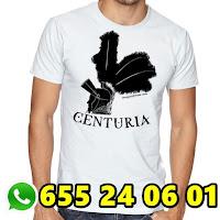 Camiseta centuria macarena, camiseta cofrade, camiseta personalizada