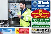 Firmenaufkleber für das Elektrohandwerk