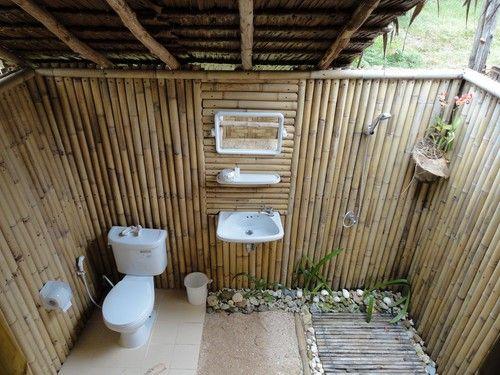 ห้องน้ำธรรมชาติเน้นของราคาถูก