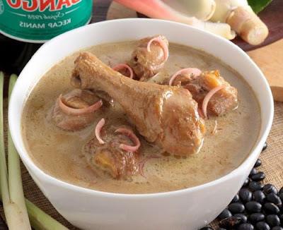 Resep Opor Ayam Kecombrang