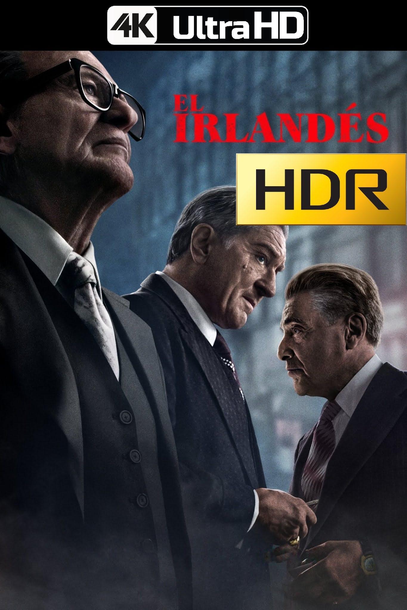 El irlandés (2019) 4K UHD HDR Web-DL Latino
