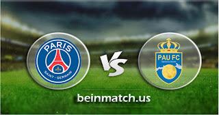 مشاهدة مباراة باو إف سي وباريس سان جيرمان بث مباشر اليوم 29-/01-2020 في كأس فرنسا