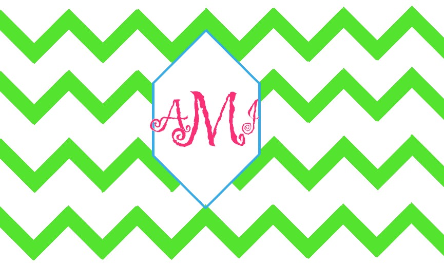 chevron initials wallpaper with o - photo #11