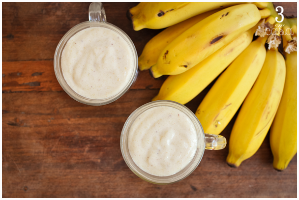 smoothie banana receita