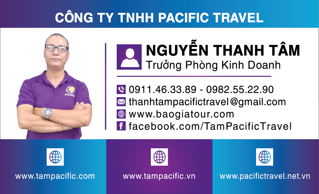 cong ty pacific travel