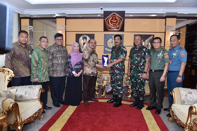Ketua Baznas Beraudensi Ke Panglima TNI