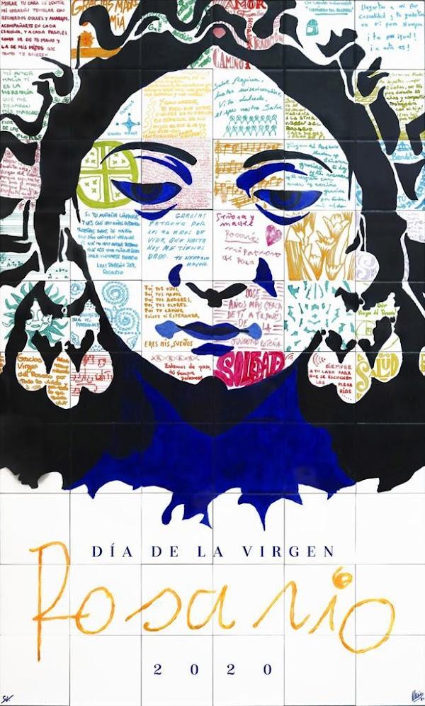 PRESENTADO EL CARTEL DE LA VIRGEN DEL ROSARIO de ROTA