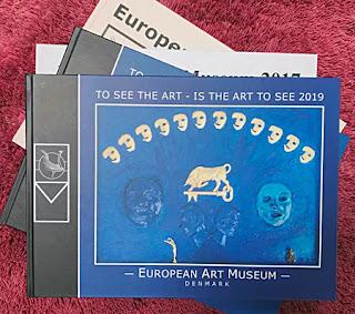 Libro de los artistas aceptados por el Museo de Arte Europeo en 2019