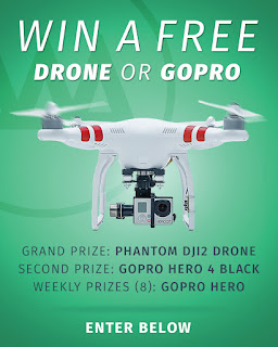 Giveaway : WIN A DRONE OR GOPRO ON GNARBOX!