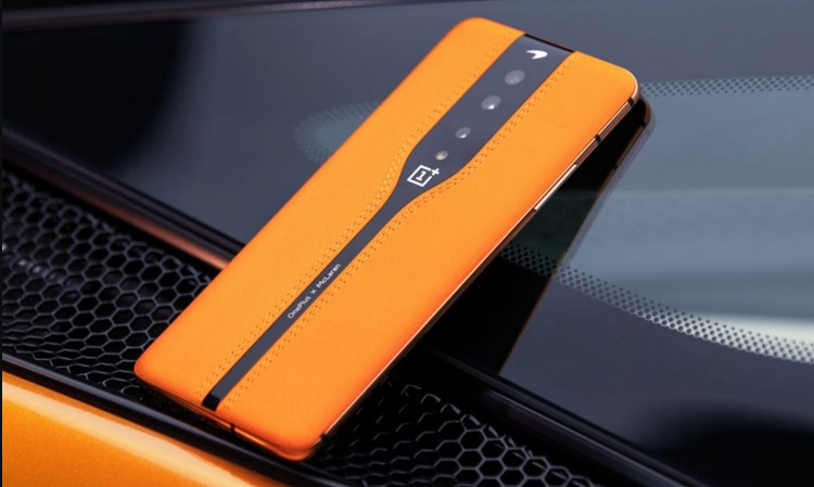 OnePlus Showcases McLaren-inspired Concept Phone with 'Invisible Camera'
