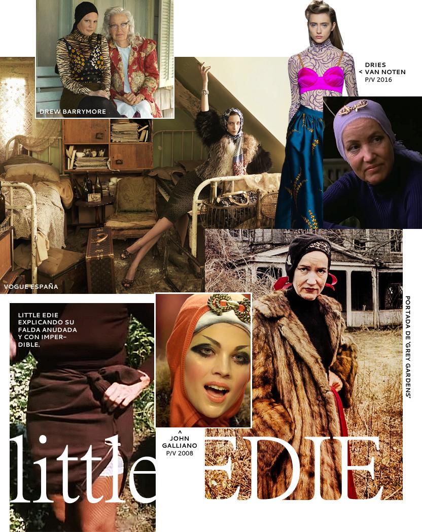 Las lecciones de moda que nos regaló Little Edie en 'Grey Gardens'