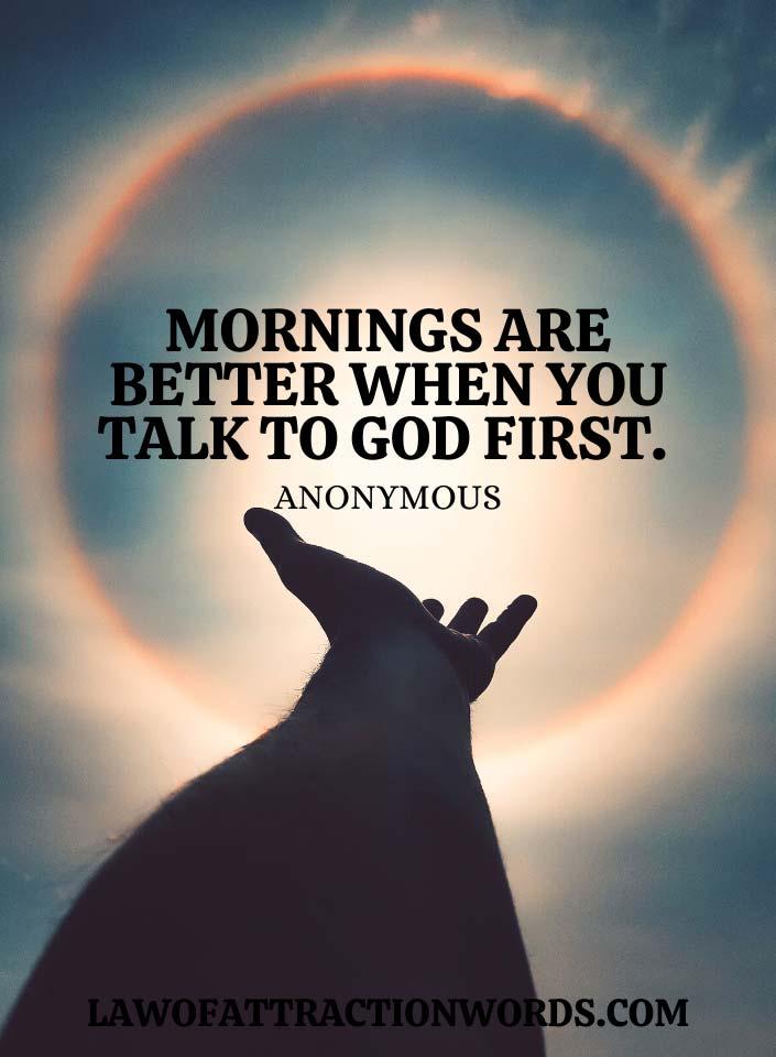Spiritual Uplifting Good Morning Quotes