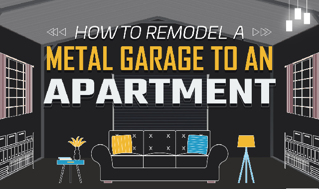 How to Remodel a Metal Garage to an Apartment? #infographic