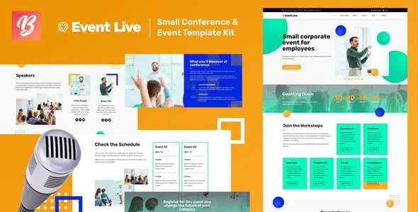 Best Small Conference & Event Template Kit