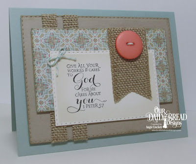ODBD Scripture Series 3, ODBD Cozy Quilt Paper Collection, ODBD Custom Double Stitched Rectangles Dies