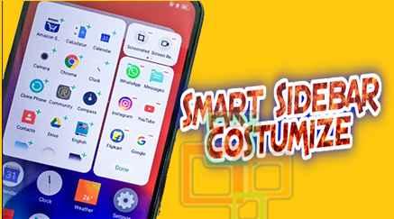 Cara Pasang Smart Sidebar Di Realme C11, C3 dan Realme All Series