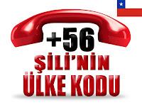 +56 Şili ülke telefon kodu