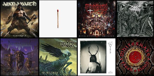 Premiery rock metal maj 2019