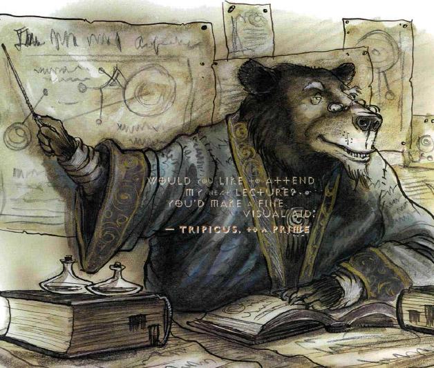 tripicus Il prof. Tripicus tiene una lezione di cosmologia - autore ignoto //www.gdr-online.com// © dell'autore