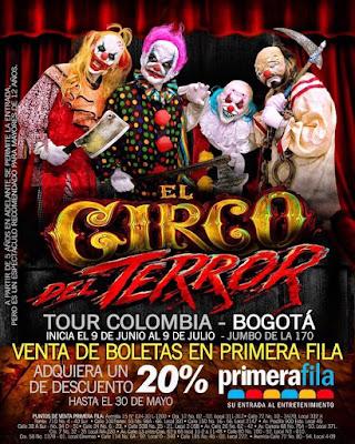 EL CIRCO DEL TERROR (SHOW DE HORRROR) Bogota 2