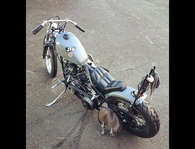 Harley Davidson Shovelhead By Pod Hell Kustom