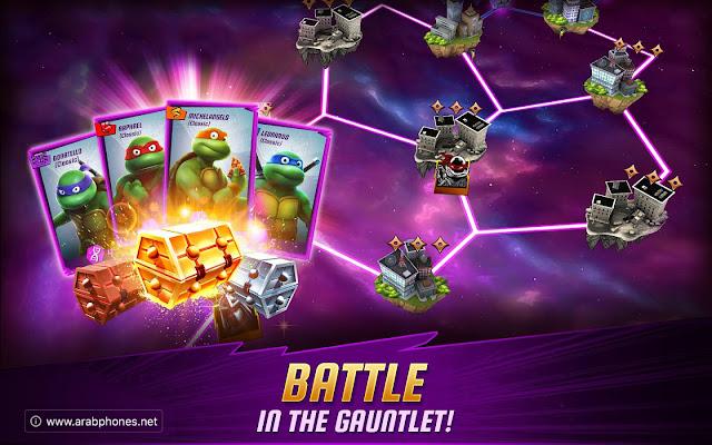 تحميل لعبة سلاحف النينجا Ninja Turtles للاندرويد apk مجانا