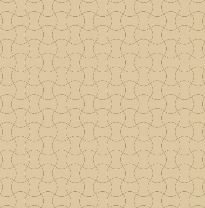 Ontwerp klokhuisjes quilt