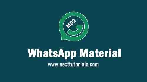 WhatsApp Material D2 v2.0 Apk Mod Latest Version Android,Install Aplikasi Wa Material MD2 Update Terbaru 2021,tema mod keren anti banned, whatsapp mod terbaik 2021