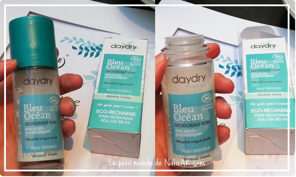 déodorant Bleu océan naturelle écologique  bio