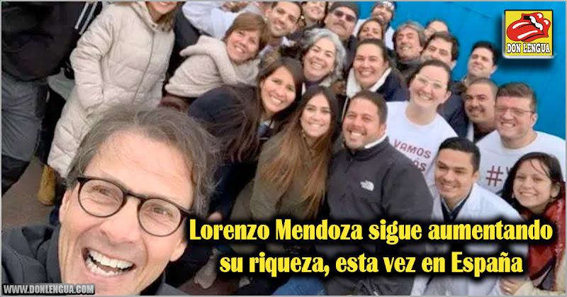 Lorenzo Mendoza sigue aumentando su riqueza, esta vez en España