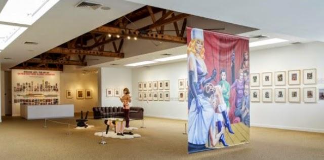 Eric Stanton, Allen Jones, Richard Perez, Taschen Gallery Exhibit