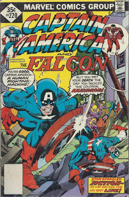 Captain America and the Falcon #220, the Ameridroid