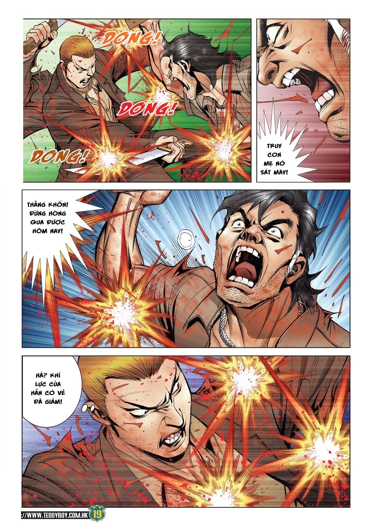 Người Trong Giang Hồ chapter 2033: kim tôn quý vs đại phi trang 16