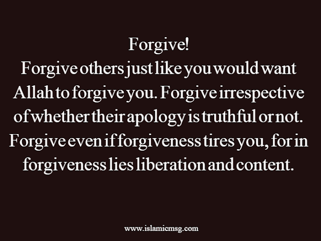 benefits of forgiving others
