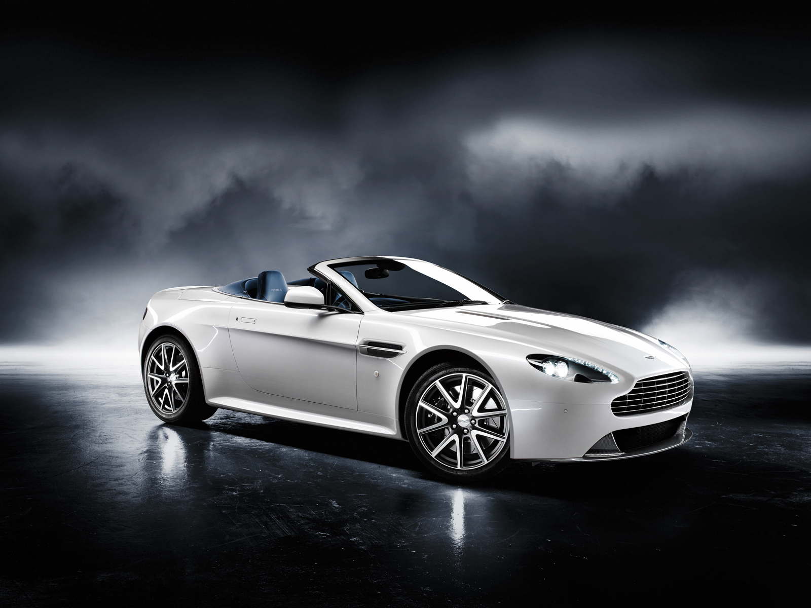 Luxury Vehicle: Aston Martin Sports Car 2011