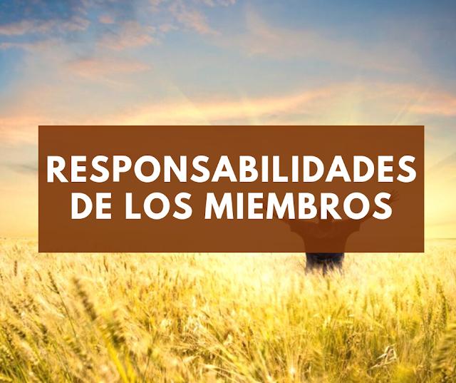 Responsabilidades de los Miembros